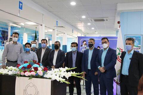 افتتاح بخش مگا آی سی یو بیمارستان امام اهواز با مشارکت بانک رفاه