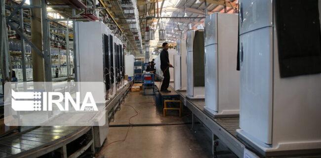 تولید بیش از ۲.۶ میلیون دستگاه لوازمخانگی بزرگ