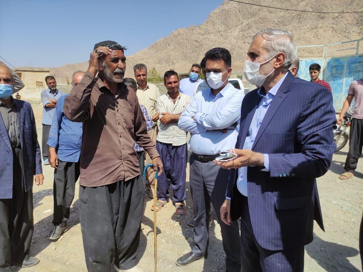 فرماندار:یک حلقه چاه برای رفع مشکل آب شرب روستاهای کرمانشاه حفر میشود