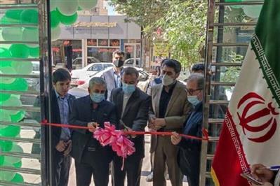افتتاح ساختمان جدید شعبه میانه بانک مهر ایران