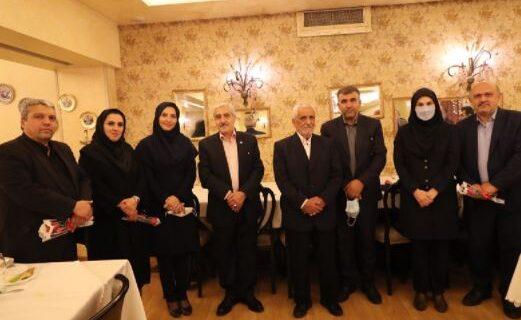 تقدیر از بازنشستگان بانک ملی ایران