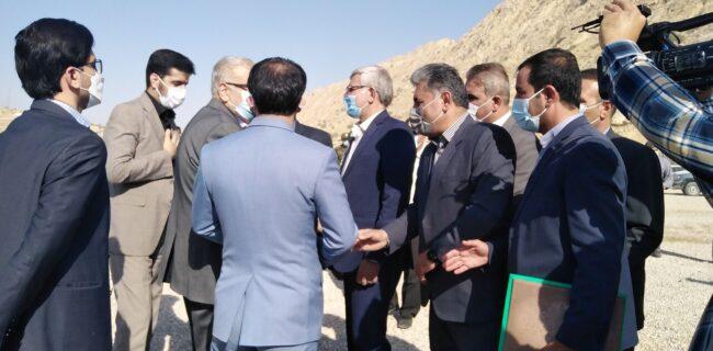وزیر نفت از سد چم شیر در گچساران بازدید کرد
